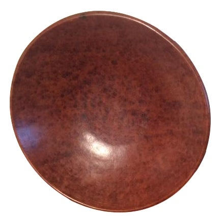 Indonesian Round Serving Bowl - Image 1 of 4