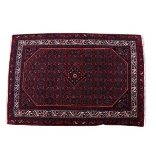 Old Hand-Knotted Classical Persian Rug - 3′6″ × 5′6″