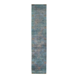 """Vibrance Hand Knotted Runner Rug - 2' 7"""" X 11' 10"""""""