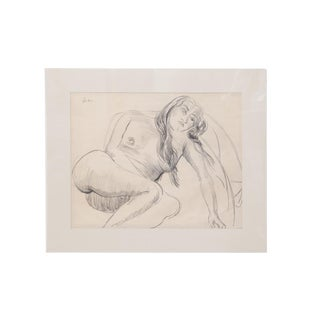 Sir Jacob Epstein Pencil Drawings