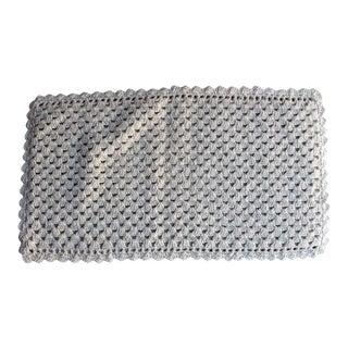 Vintage Handmade Crochet Rug