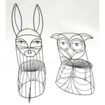 Image of John Risley Rabbit & Owl Chairs - A Pair