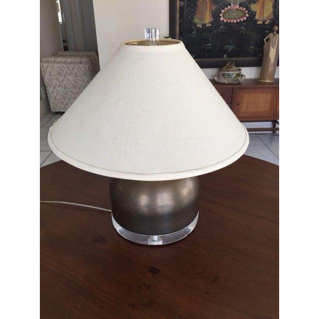 Mid-Century Squat Table Lamp - Image 4 of 6