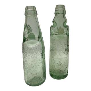English Ginger Beer Bottles - A Pair
