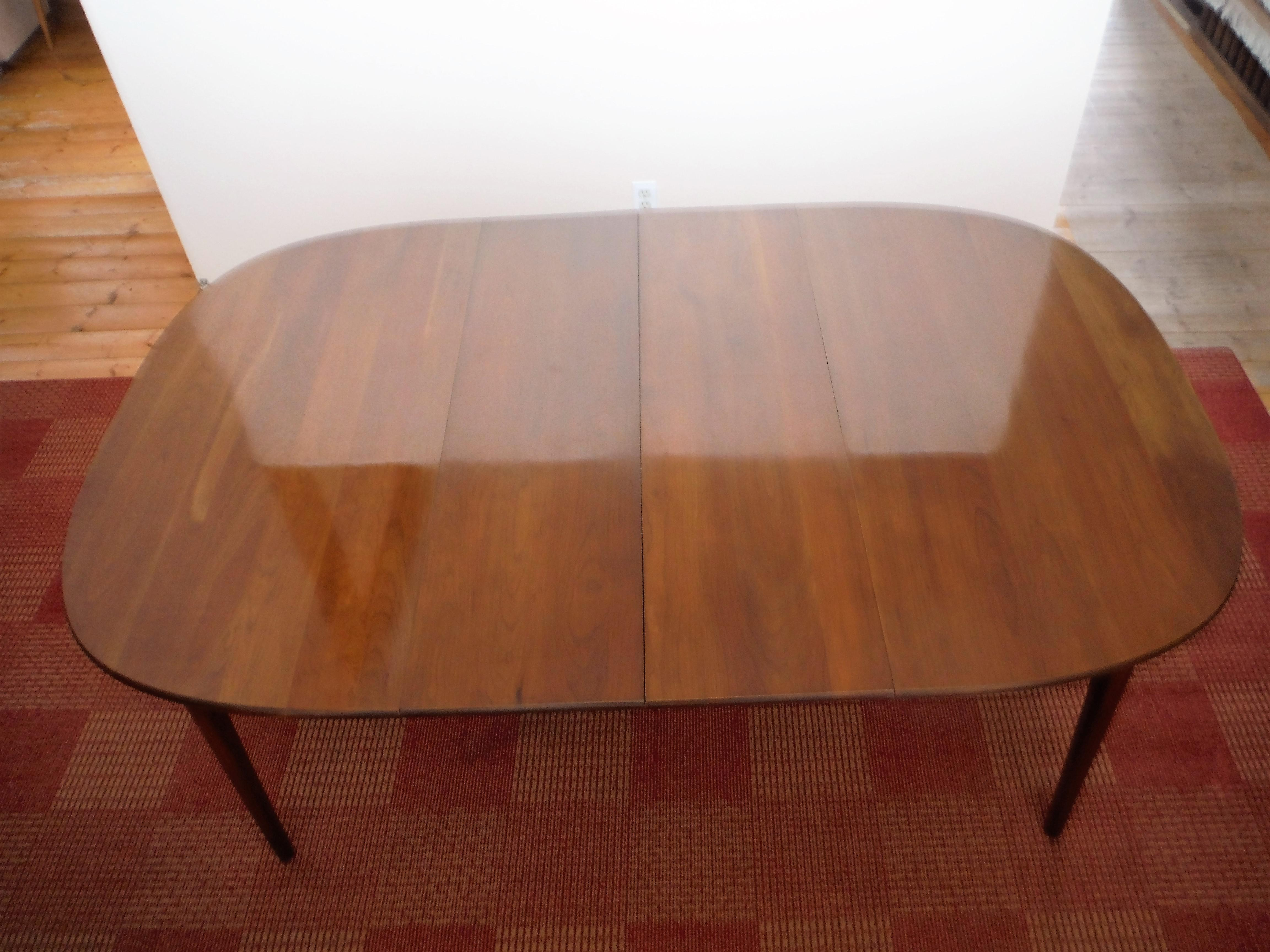 Solid cherry dining