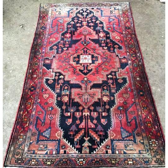 "Vintage Persian Rug - 4'4"" x 7'5"" - Image 2 of 6"
