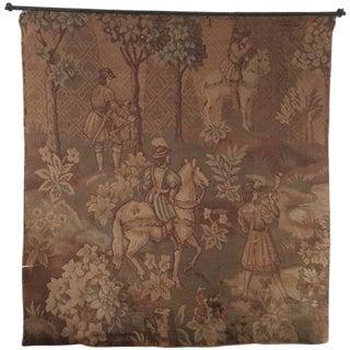 Hunt Scene Tapestry