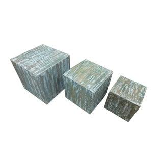 Funky Square Box - Set of 3
