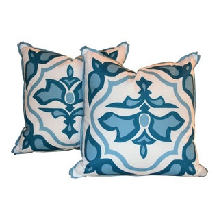 Lagos Tidal Lacefield Pillow Set - A Pair