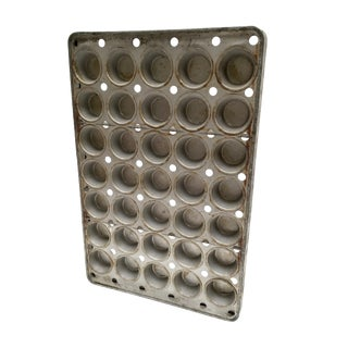 Vintage Schoolhouse Muffin Tin
