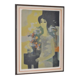 Vintage Color Etching by André Minaux