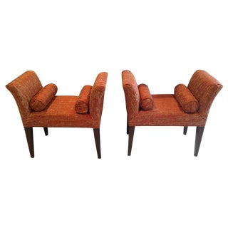 Richmond Bench by Donghia - A Pair