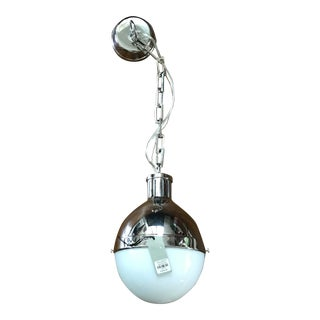 Visual Comfort Thomas O'Brien Hicks Antique Nickel Finish Pendant Light