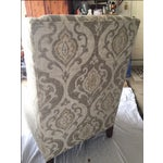 Image of Arhaus Upholstered Plazza Wing Chairs - A Pair