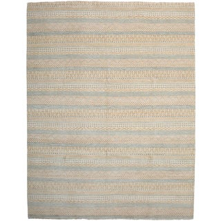 """Modern, Hand Knotted Area Rug - 8' 0"""" X 10' 3"""""""