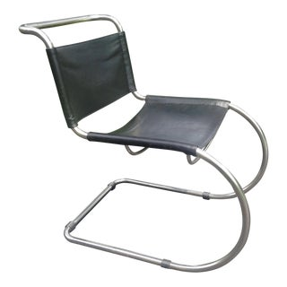 Mies Van De Rohe MR10 Style Lounge Chair