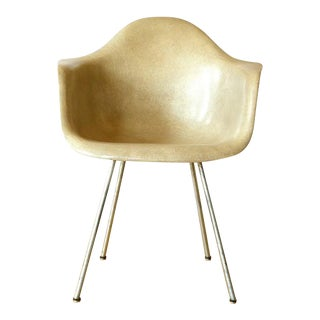 Early Eames Fiberglass Armchair