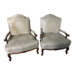 Ethan Allen Harris Chairs - A Pair