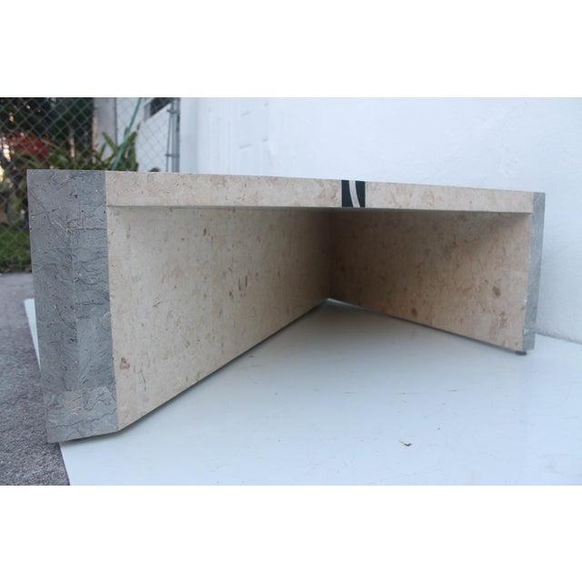 Square Coffee Table Stone: Maitland Smith Tessellated Stone Square Coffee Table
