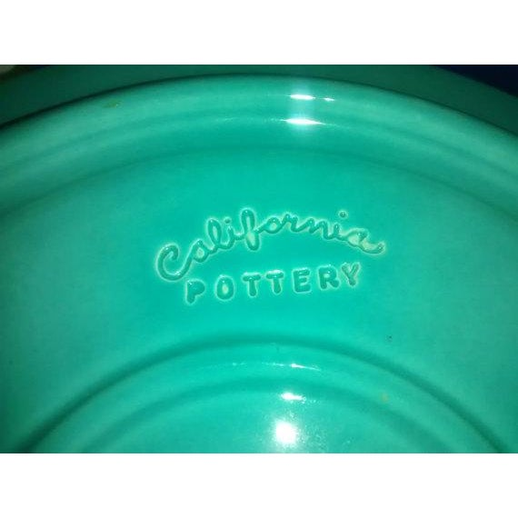 Metlox California Pottery Grill Plates - Set of 4 - Image 4 of 5