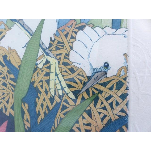 "Judith Hall ""The Rookery"" Intaglio Print - Image 6 of 10"