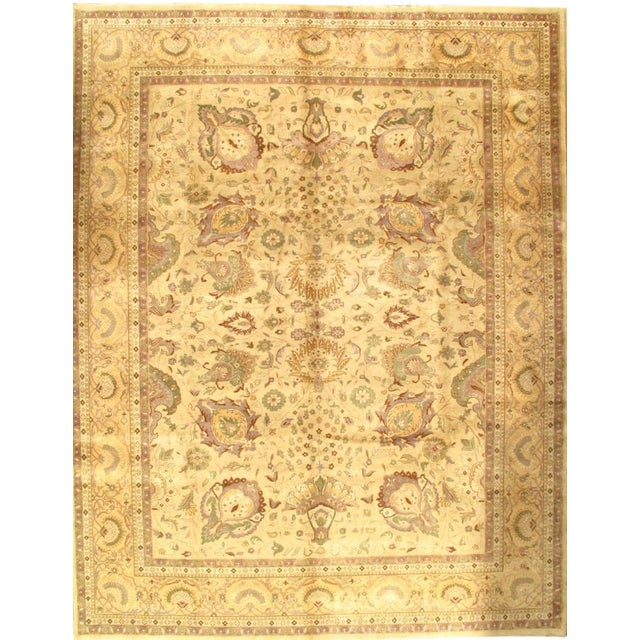 """Pasargad NY Sultanabad Design Hand-Knotted Rug - 9'2"""" x 12' - Image 1 of 2"""