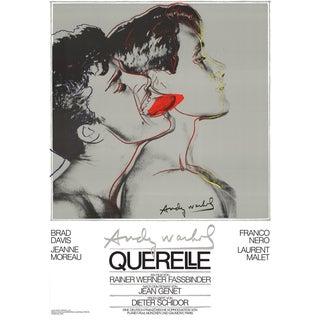"1983 Andy Warhol ""Querelle Grey"" Poster"