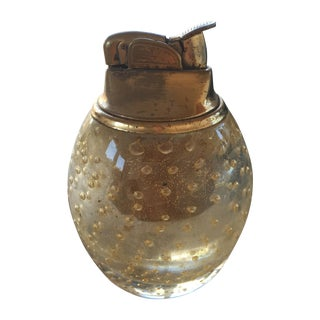 Vintage Murano Glass Gold Lighter