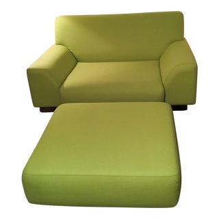 Cini Boeri Lounge Chair & Ottoman for Knoll