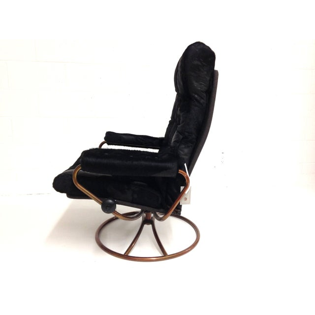 Ekornes Mid-Century Modern Lounge Chair - Image 4 of 7