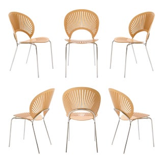 Trinidad Chairs by Nanna Ditzel for Fredericia, Set of Six