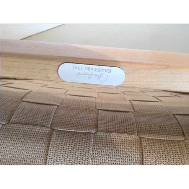 Original And Signed Jens Risom Lounge Chair - Image 6 of 9
