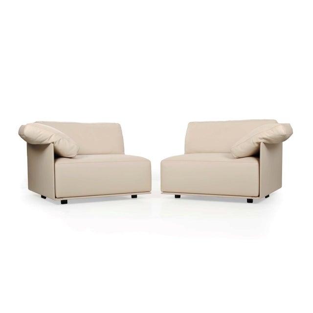 """Lievore Altherr Molina for Poltrona Frau """"Cassiopea"""" Leather Sofa - Image 2 of 11"""
