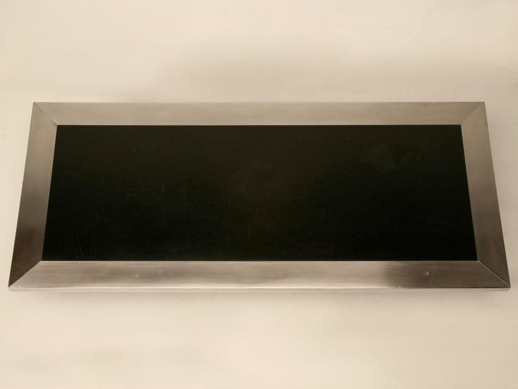 60s Black Lacquered U0026 Brushed Metal French Coffee Table   Image 3 Of 11
