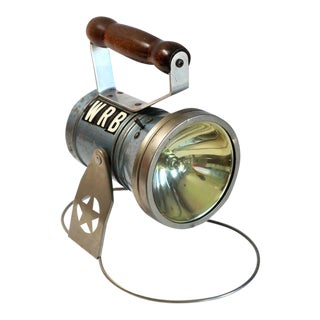 Vintage Workman's Flashlight