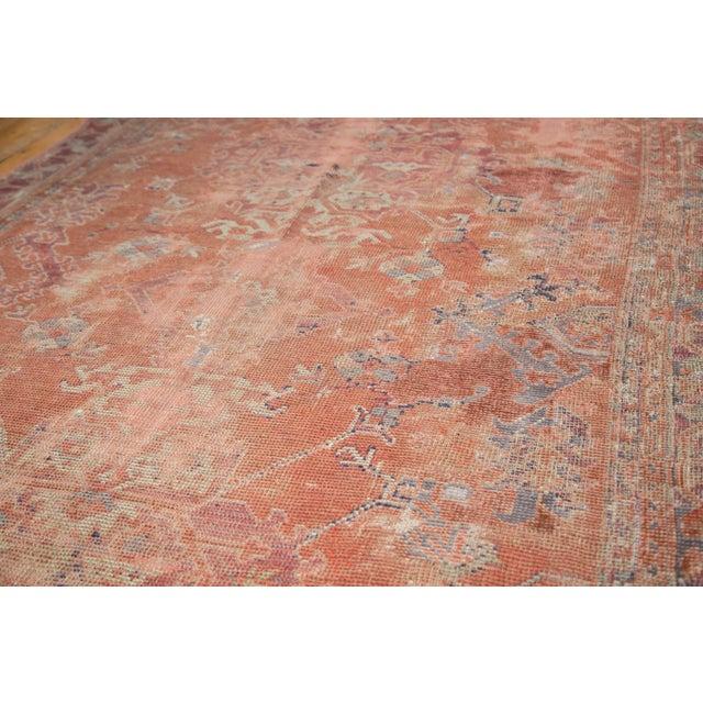 "Image of Distressed Oushak Carpet - 5'4"" X 8'"