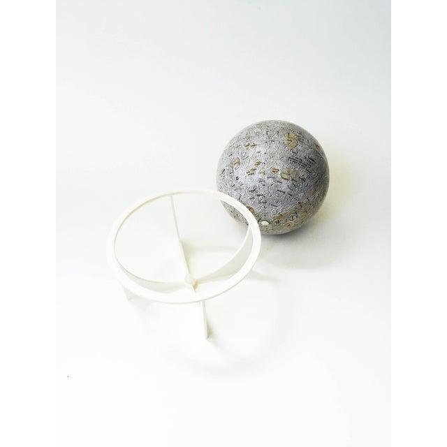 Mid-Century Tin Moon Globe - Image 5 of 5