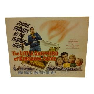 1960 Vintage Movie Poster