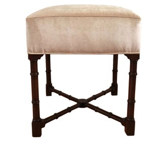 Hickory Chair Co. Upholstered Bench