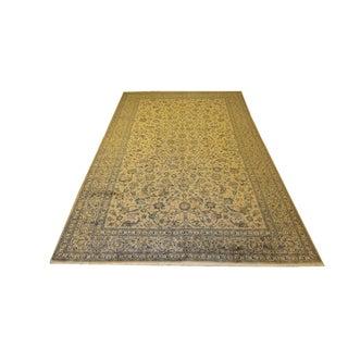 "Palace Persian Tan Wool Rug - 10'2"" x 16'6"""