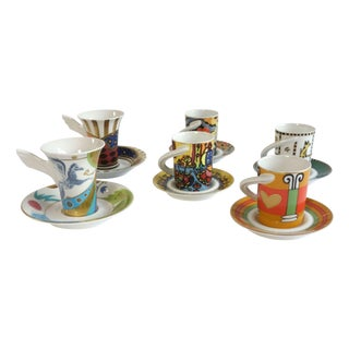 Rosenthal China Espresso Cups - Set of 6
