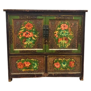 Antique Lacquered Chinese Sideboard