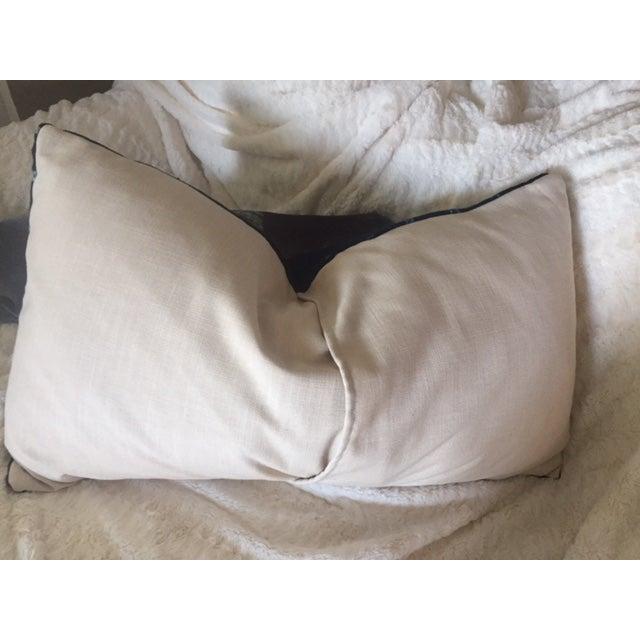 Indigo Mud Cloth Pillow - Image 3 of 3