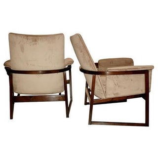 Documented Milo Baughman Lounge Chairs - A Pair