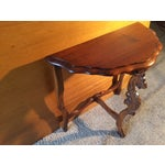 Image of Victorian Carved Leg End Table