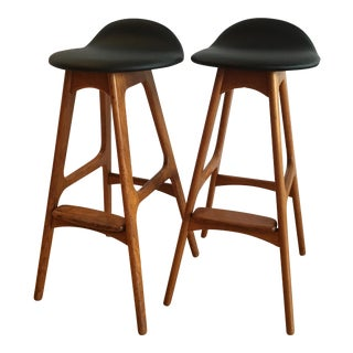 Erik Buck Bar Stools - A Pair