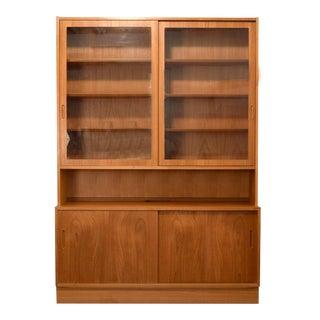 Hundevad Danish Teak 2 Piece Credenza & Cabinet