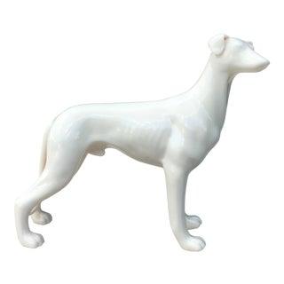 Vintage Ceramic Greyhound/Whippet Figure