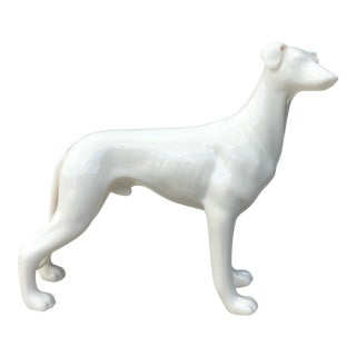 Vintage Ceramic Greyhound/Whippet Sculpture