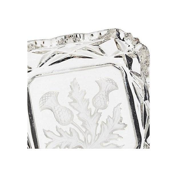 Image of Thistle Glass Square Trinket Dish